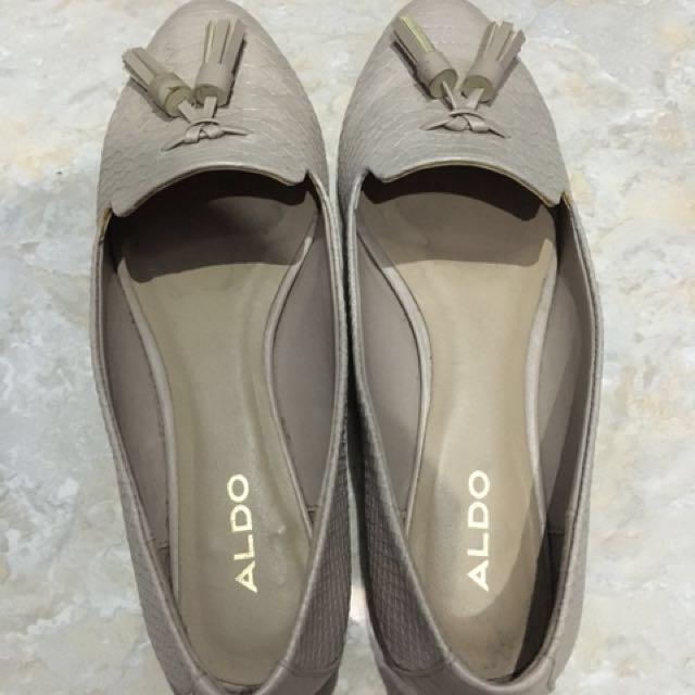 ‼️TURUN HARGA🌸💁🏻WOMAN💁🏻ALDO Flat Shoes (36/ Nude Pink)