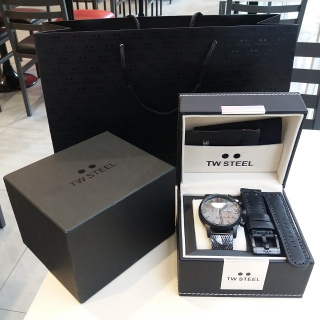 TW Steel Son of Time Mens Watch (MST4)