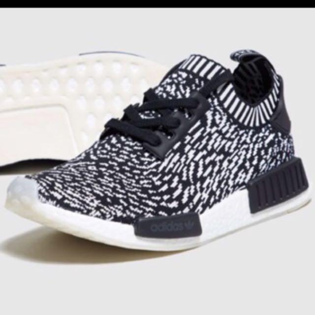 uk 9 adidas nmd r1 pk sashiko edizione, moda maschile, calzature in