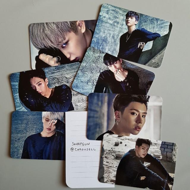 (unofficial) monsta x stuck photocard set 💎 kpop 💎