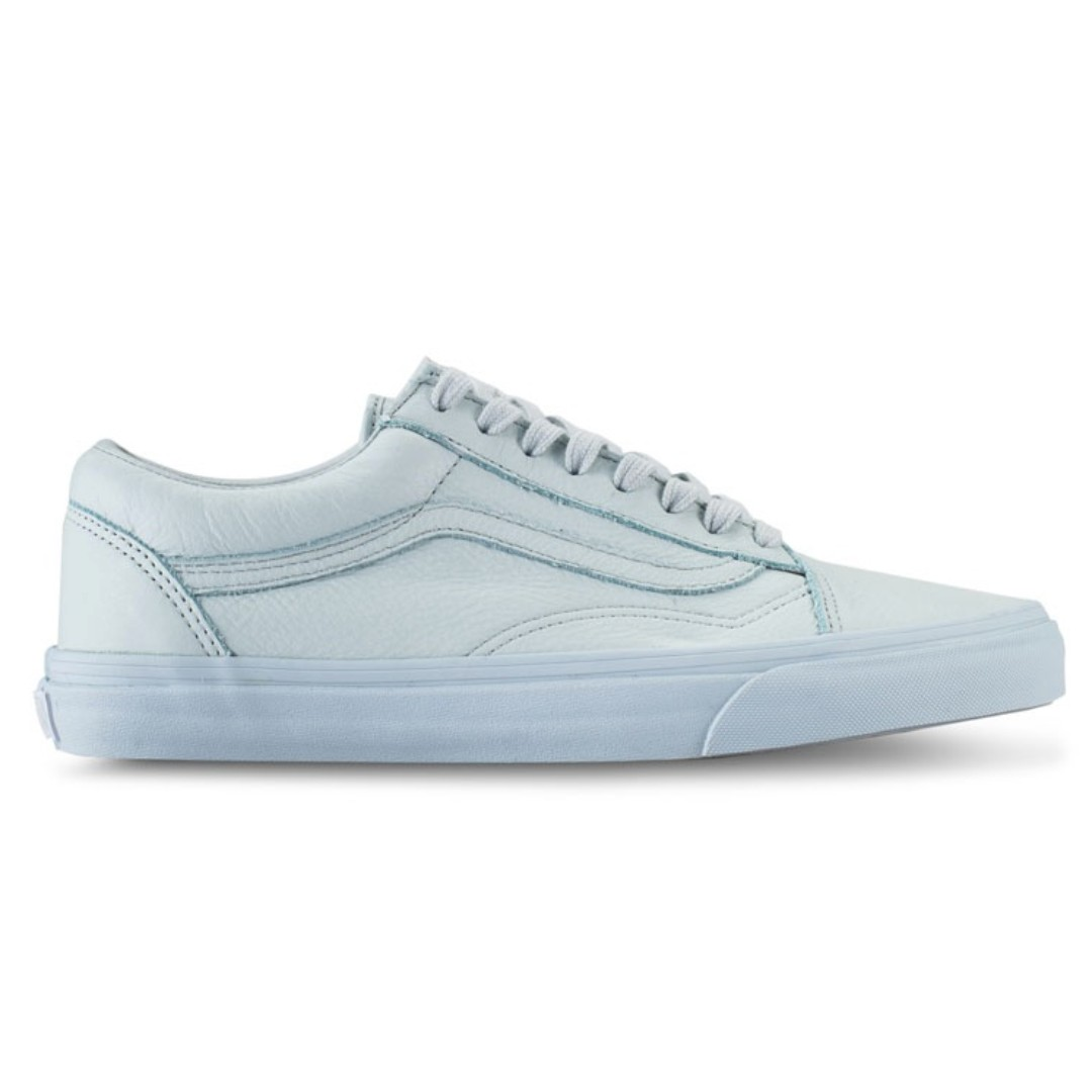 4e982a596c900b Vans Old Skool Leather Mono Ice Flow Shoe