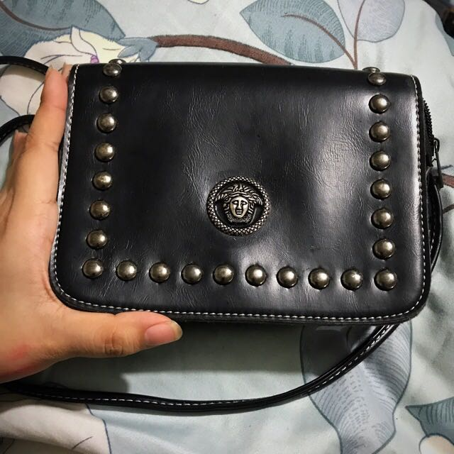 Versace inspired sling bag, Women s Fashion, Bags   Wallets on Carousell d353251d78
