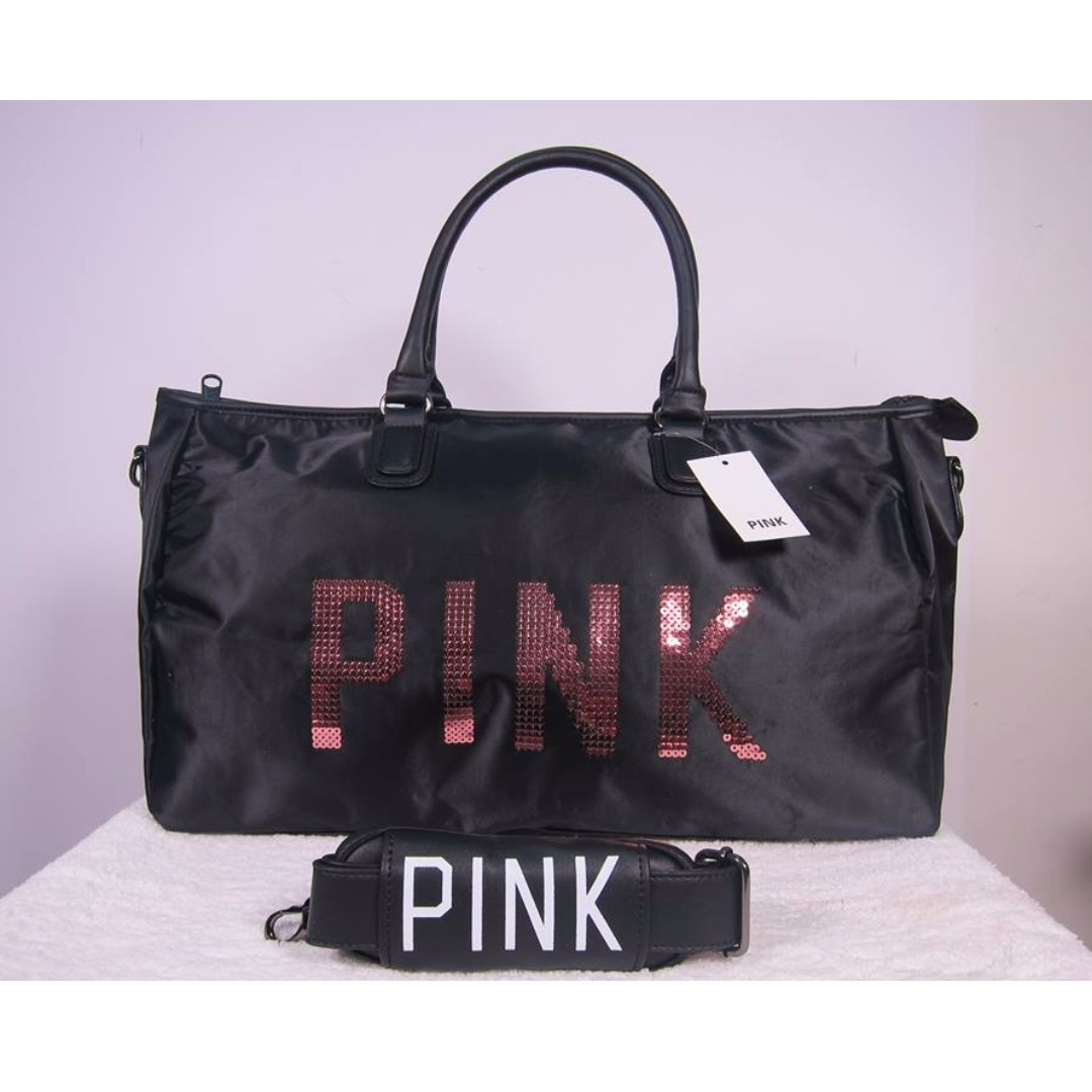 Victoria Secret Pink Tote Travel Bag Essentials Luggage On Carou