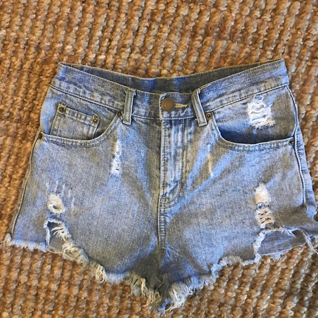 Vintage Cutoff denim shorts