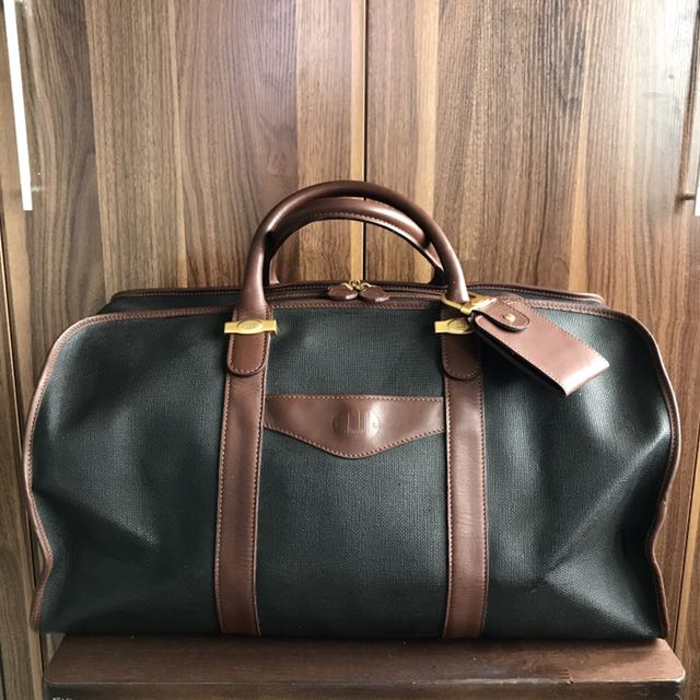 77c10a9f91b Vintage Dunhill Duffle Travel Weekender Gym Luggage Bag Fossil Coach Cole  Haan Gucci Samsonite Kenneth Cole Lacoste Tommy Hilfiger Ralph Lauren  Balenciaga ...
