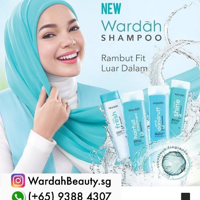 Wardah Shampo 6nett Halal Warda Cosmetic Health Beauty Bath