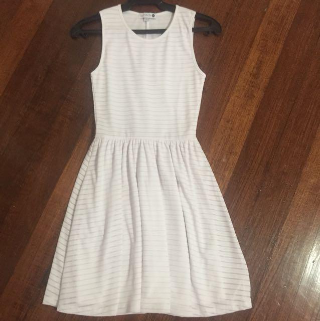 White Skater Dress Cotton On