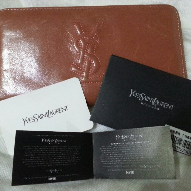 YSL wallet with care card