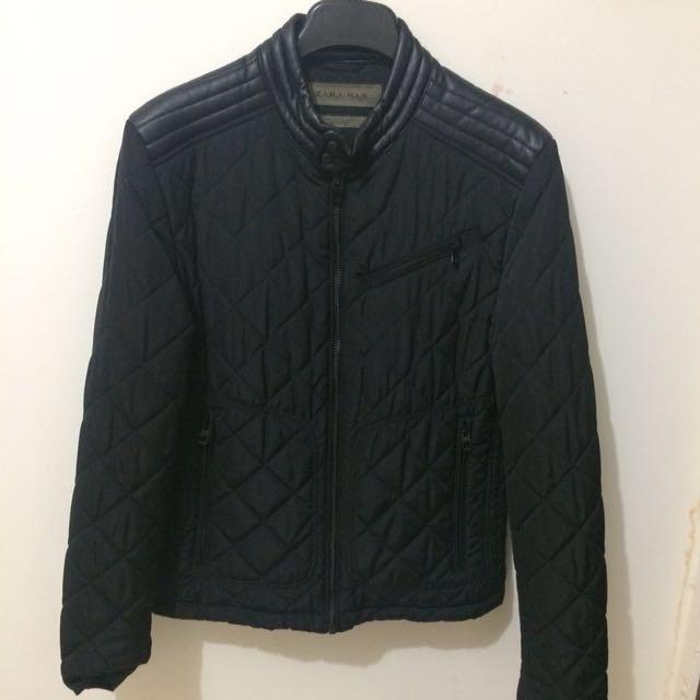 Zara Man Quilted Jacket