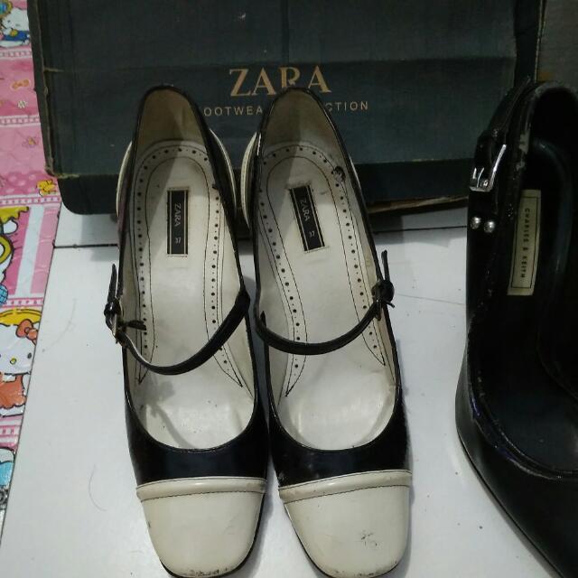Zara Mary Jane Shoes