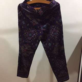 Shopmosphere Batik Pants with Lining