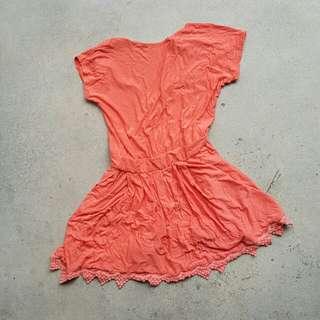🍑 Lovely Peach Dress