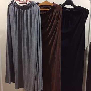 Cotton Maxi Skirt (All for RM100)