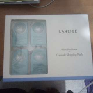 Laneige white plus renew casule sleeping pack