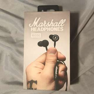 Marshall earphones