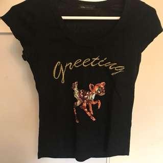 Reindeer T Shirt