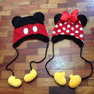 Mickey and Minnie Mouse Bonnet
