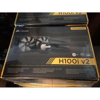 Corsair Hydro Series H80i v2 / H100i v2 / H115i Performance AIO Liquid CPU Cooler