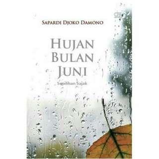 Ebook Hujan Di Bulan Juni