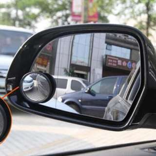 308 KACA SPION PUTAR MINI Tambahan Blind Spot Mirror Mobil Motor