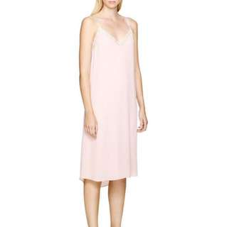 Aritzia Babaton Light Pink Slip Dress