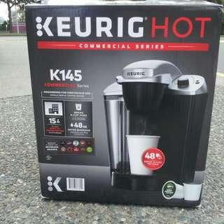 KEURIG HOT 145 COMMERCIAL SERIES COFFEE MACHINE