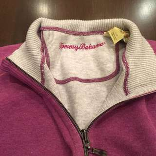 Tommy Bahamas quarter zip