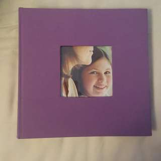 Purple Photo Album