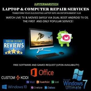 Computer & Mac Services Reformat