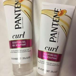 Pantene hair gel - curly hair