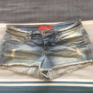 Tigerlily denim shorts