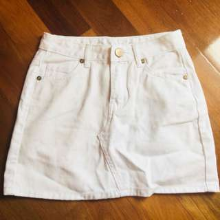 Cotton On Mini white Skirt