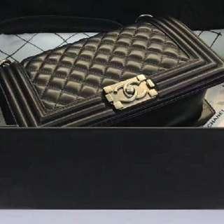 PREMIUM Authentic Chanel Le Boy Sling Bag