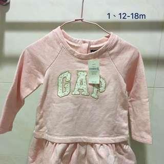 全新GAP女嬰幼兒童上衣