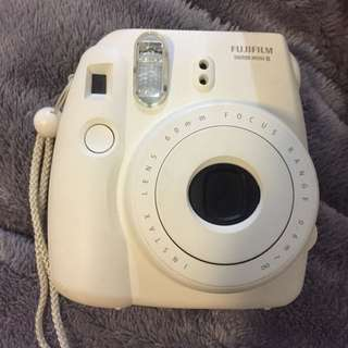 Fuji Polaroid Camera White