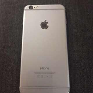 Unlocked Space Grey iPhone 6 Plus in 64 gb