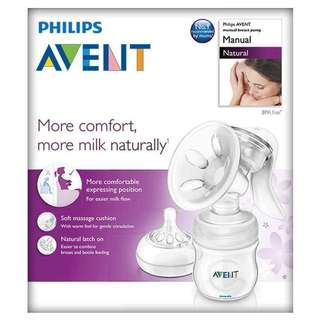 Price Reduced To $30! Philips Avent Manual breast Pump