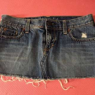 Abercrombie maong skirt