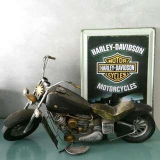 Motorcycle model (52cm long)