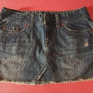 American Eagle Maong skirt