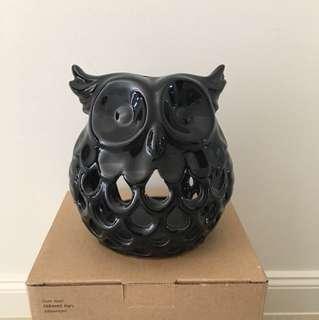 Typo Cute Hoot Ceramic Owl Ornament