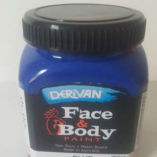 Derivian Face & Body Paint Blue