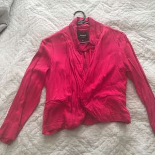 Red blazer - size 8
