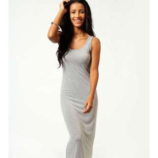 NWT Grey maxi dress