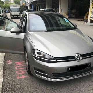 VW GOLF MK7 2013  TIP TOP CONDTION (BEST PRICE IN TOWN) (SGPORE SCRAP CAR)