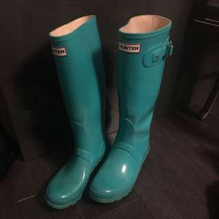 Tall Hunter Boots - size 7.5