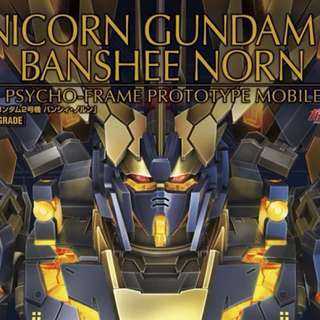 [bundle sale] PG unicorn gundam Banshee + expansion unit armed armor VN/BS