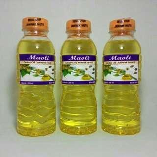 Pure castrol oil / minyak biji jarak