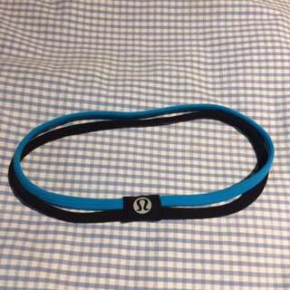 Lululemon headband gently used #10andunder