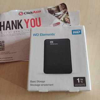 WD western digital 1tb hard disk